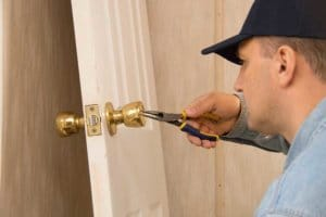 Commercial Locksmith Columbia unlocks door